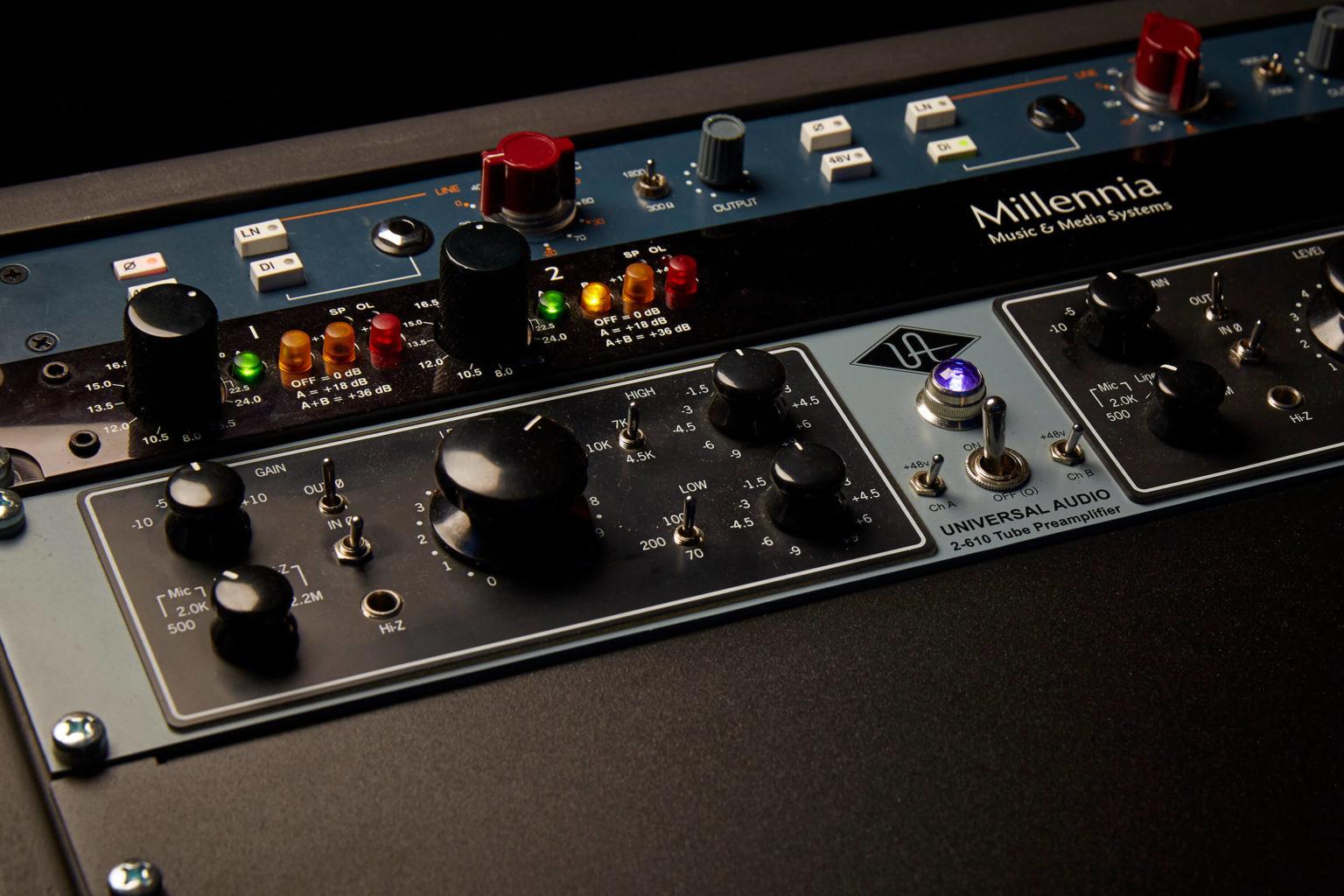 pre-amplificatore